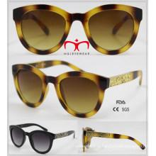 Новые приходя модные солнечные очки с украшением металла (WSP601535)