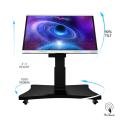 65 Zoll Smart LCD Panel mit automatischem Ständer