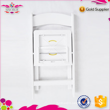 plastic banquet folding white chair
