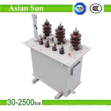 Transformador (33KV) inmerso en aceite del alto voltaje de 200KVA