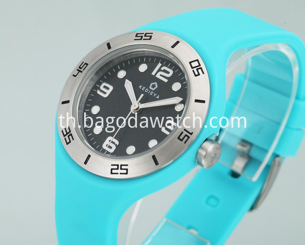 Silicone Strap Watch Women S