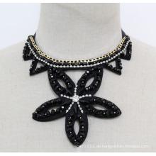 Damen-Stern-Kristallmode-handgemachte Kostüm-Schmucksache-Halskette