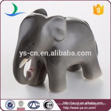 Оптовый модный керамический банк монетки слона