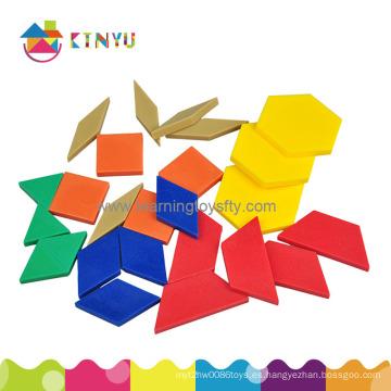 Suministros para el aula de la escuela / Bloques de patrones Puzzles
