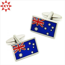 Professional Design Flag Cufflinks with Excellent Quality