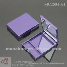 MC2004-A1 Petits récipients en plastique vides en forme d'ombre à paupières