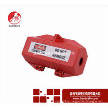 Wenzhou BAODSAFE Safety BDS-D8642 Red colour Plug Lockouts Lock Box