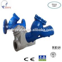 DN50-DN1400 flangeada, sulcado, ferrou filtro Y