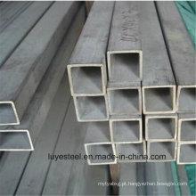 Tubo quadrado de aço inoxidável / tubo 304