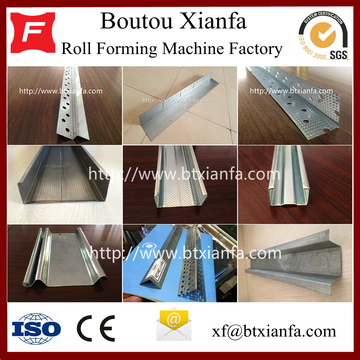 C U Stud And Track Roll Forming Machine