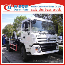 Dongfeng kinland unload able garbage truck