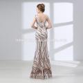 2018 longue conception sur mesure étage longueur paillettes élégante robe de soirée