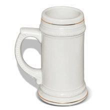 Sublimation blank Beer mug printing on mugs