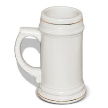 Sublimation blank Beer mug printing on mugs