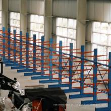 Sistema de estantes de carro cantilever para armazém