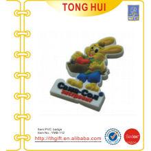 Kundenspezifische Kaninchen-PVC-Magneten für 3D-Entwürfe