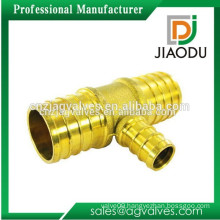 Custom Made OEM/ODM 1 2 3 4 inch DN15 20 China High quality high pressure 3 way brass hose connector with valve