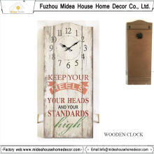 Reloj de pared de encargo de la fábrica con cualquier tamaño o cualquier diseño