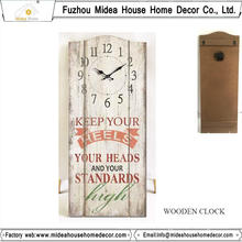 Factory Custom Wall Clock with Any Size or Any Design