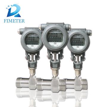 Intelligent Cold hot water type turbine flow meter price