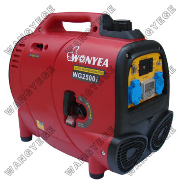 Gasoline-Digital Inverter Generator Set with Maximum Power of 2,500W and 10.8A Current