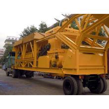Fábrica de lotes de concreto móvel Yhzs 35 (35m3 / h)