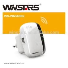 300Mbps Wireless Wifi Repeater / AP mit WPS, Bietet eine 10 / 100Mbps Auto-Verhandlung Ethernet WLAN Ports