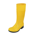 Anti-acid PVC safety rain boots with steel toe