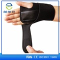 Personalized rubber leather wrist support brace bands