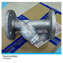 Ss316 фланцевый торцевой фильтр из нержавеющей стали типа Y сетчатый фильтр