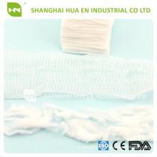100% coton absorbant stérile écharpe chirurgicale éponge éponge / cale de gazon / écharpe de gaze