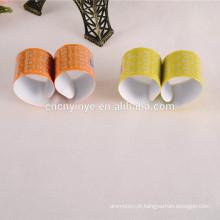 Faixa de tapa personalizada de PVC fluorescente reflexiva