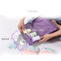 Travel bag underwear storage bag with hanger