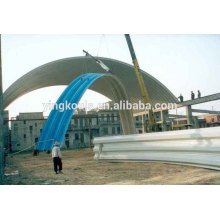 LS-120 Mobile Arched Steel Roof Sheet Curve Machine