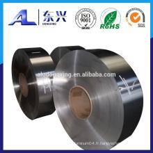 Bande de transformateur en aluminium