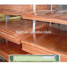 Melhor venda de Cobre / Folha de Bronze / placa / bobina de alta qualidade moinho / preço de fábrica