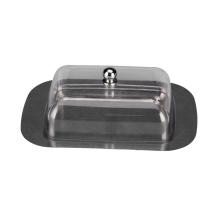 Нержавеющая сталь металлическая тарелка прозрачная пластиковая крышка