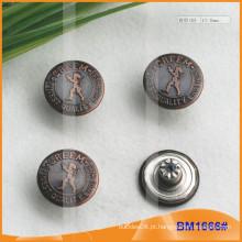Metal Botões, Custom Jean Pins BM1666