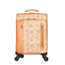 OEM service waterproof travel business PU luggage