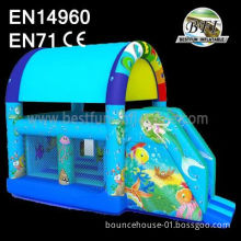 Deep Sea Inflatable Castle Combo Bouncer