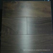 Pavimento de madera de nuez reconstituida seleccionada