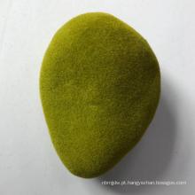 venda quente de diferentes formas de musgo artificial pedra grama reunindo pedra