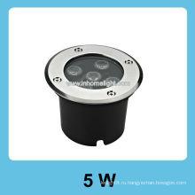 5W светодиодный подземный свет