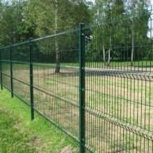Residential Perimeter Welded Fence with Bending for Sale
