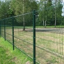 Wohnperimeter geschweißter Zaun mit dem Biegen für Verkauf