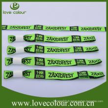 Poignets personnalisés en usine / bracelet en tissu