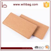 Carteira longa lavável Eco-amigável durável da bolsa do papel de embalagem