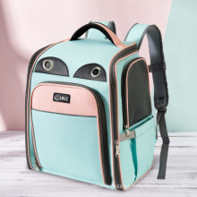 Pet Bags Dog Cat Breathable Carries Backpack Pet Shoulders Bags for Outdoor Traveling Pet Backpack