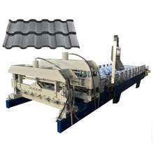 South Africa metal high IBR roof sheet profile metal glazed tile roll forming machine with high quality