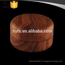 Pot de crème cosmétique 20ml grain de bois